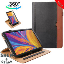 ZoneFoker New Samsung Galaxy Tab A 10.1 inch 2019 Tablet Leather Case, 360
