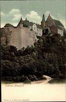 Mansfeld Sachsen-Anhalt Harz AK ~1910 Verlag Schumann Schloss Palace ungelaufen