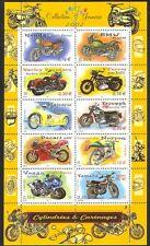 France 2002 Motorcycles/Motor Bikes/Harley/Triumph/Norton/Transport sht (n36627)
