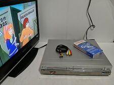 Zenith Xbr413 Dvd Vcr Combo Player Vhs Dvd Recorder w/ blank tape + A/V cables
