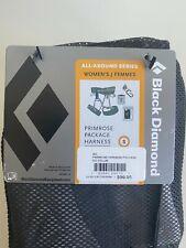 Womens Black Diamond Primrose Harness Package in Smoke Gray Size Small