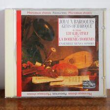 JOYAUX BAROQUES de l'Italie à la bohème – Ensemble Mensa Sonora – PV 730036