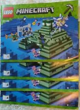 LEGO minecraft 21136 The Ocean Monument instructions neuves LOT3