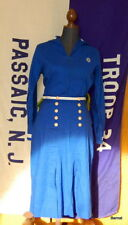 EARLY GIRL SCOUT - MARINER SCOUT UNIFORM BLOUSE & SKIRT - EXCELLENT CONDITION