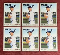 Lot of (6) 2019 Topps Heritage PETE ALONSO Rookie Card #519 RC New York Mets🔥