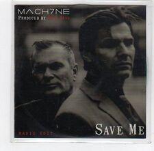 (FE232) Mach7ne, Save Me - 2014 DJ CD