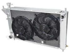 """3 Row Discount Champion Radiator W/ 2 12"""" Fans for 1994 1995 1996 Ford Mustang"""