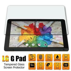 9H Tempered Glass Screen Protector For LG G Pad 7/F 7/8/F 8/F2 8/X 8/X2 8/8.3