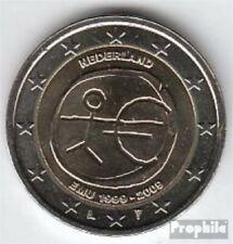 Niederlande 2009 Stgl./unzirkuliert 2009 2 Euro E.M.U. - 10 Jahre Währungs
