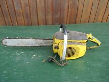 """New listing Vintage McCULLOCH C7834 Chainsaw Chain Saw with 16"""" Bar"""