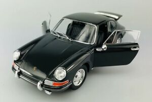WELLY PORSCHE 911 BLACK 1:24 DIE CAST METAL MODEL NEW IN BOX