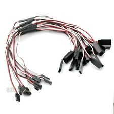 20pcs 300mm JR Futaba Plug Y Style 1 to 2 Servo Extension extend Lead Wire Cable