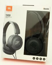 NEW JBL T450 Over-Ear Headphones, Micro, Remote, SUPER BASS, Android + Apple iOS