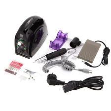 Mini Salon Nail File Drill Glazing Manicure Machine Accessory Pedicure Kit Set