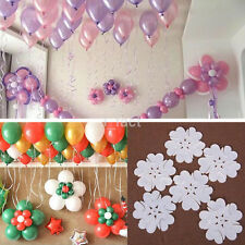10pcs/Pack Plum Flower Clip Seal Clip Multi Balloon Sticks Balloon Accessories