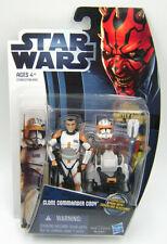 Star Wars Clone Wars CW7 Clone Commander Cody Movie Heroes!