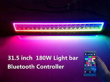 """31.5"""" 180W Led Light Bar Dream Color Chasing Halo Ring lights Bluetooth Control"""