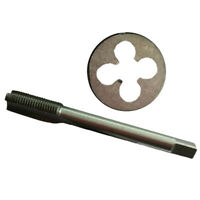 HSS M8 x 1.0 mm à Gauche Filetage Plug Tap Die Threading Outil Pour Machine