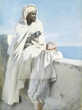 Painting Anders Zorn An Algerians Bay Of Algiers Canvas Art Print
