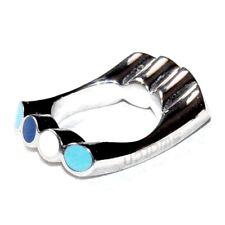SWATCH Bague originale et design acier et émail bleu T 52 bijou ring