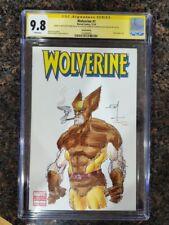 Marvel Wolverine #1 CGC 9.8 Signed Sketch Cover Frank Miller Alex Sinclair Art