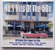 NEW & Sealed No. 1 Hits of the 50's (2016) 2 CD Set