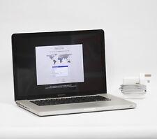 15-inch Apple MacBook Pro 2GHz i7 Quad Core 4GB RAM 500GB HDD A1286 Early 2011