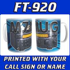 FT-920 FT920 CALL SIGN & RADIO HAM AMATEUR RADIO PERSONALISED