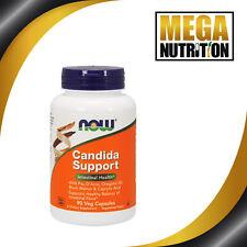 NOW Foods Candida Support 90 Veg Capsules   Pau D'Arco Oregano Oil Black Walnut