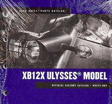 2008 BUELL ULYSSES XB12X MOTORCYCLE PARTS CATALOG MANUAL -NEW SEALED-ULYSSES