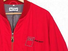 Audi Sport vintage red jacket / mens S / polyamide fabric / great / bn10