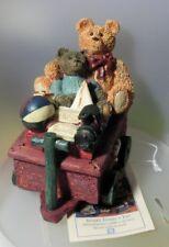 "FIGI PRODUCTS ""TWO BEARS ON A TRAIN CART TRINKET BOX""   MINT IN BOX"