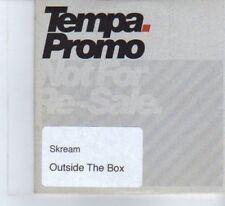 (DF371) Skream, Outside The Box - DJ CD