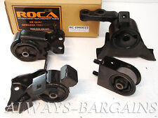 ROCAR Engine Mount Motor Transmission Mount Bushing Protege DX LX 1.6L 99-01 4pc