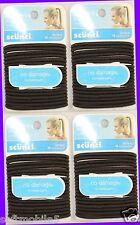 72 Scunci Effortless Beauty BROWN Hairbands Hair-ties 16776-Q