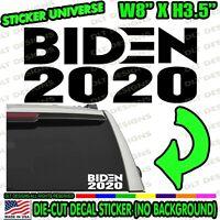 Biden 2020 President Car Window Decal Bumper Sticker Joe Democrat Election 0863