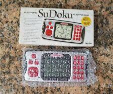 NIB EXCALIBUR ELECTRONIC SUDOKU 16K PUZZLES, 4 LEVELS, HANDHELD PORTABLE GAME.