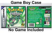 Pokemon Emerald Version - Game Boy Advance GBA Case - *NO GAME*