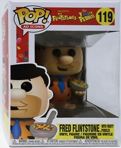 Funko Pop Ad Icons: Fruity Pebbles - Fred Flintstone with Fruity Pebbles #53859