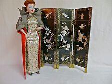 Gene/Tyler/Alex dolls: Vintage 1/4 scale Asian Folding Screen