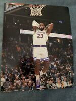 Lebron James Hand Signed Autographed 8x10 Lakers Photo Picture W/COA Auto NBA