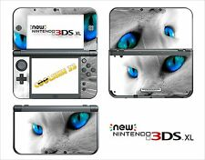 SKIN STICKER AUTOCOLLANT - NINTENDO NEW 3DS XL - REF 39 CHAT