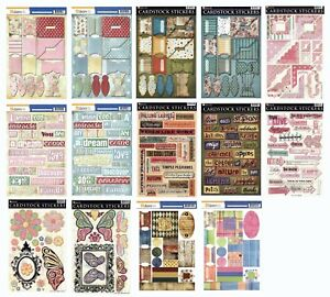 Daisy D's Cardstock Stickers - Large Variety to Choose From