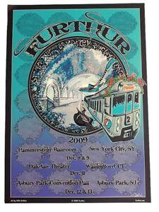 FURTHUR GRATEFUL DEAD 2009 TOUR ORIGINAL CONCERT POSTER #2  DEAD & CO