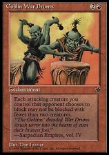 4x Goblin War Drums V1 Fallen Empires MtG Magic Red Common 4 x4 Card Cards