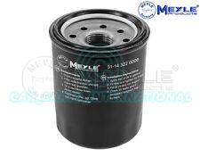 Meyle Oil Filter, Screw-on Filter 31-14 322 0006