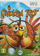 Chicken Riot Nintendo WII Video Game Original UK Release