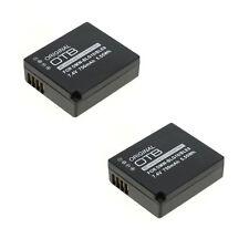 2x Akku für Panasonic Lumix DMC-TZ80 DMC-TZ81 DMC-TZ91 DMC-GX80 DMW-BLG10E