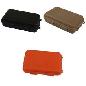 Outdoor Waterproof Shockproof Airtight Survival Case Box Fly Fishing Tackle Kit