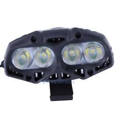 4 CREE LED Fahrradlicht Scheinwerfer Fahrrad Frontlicht USB Wiederaufladbare
